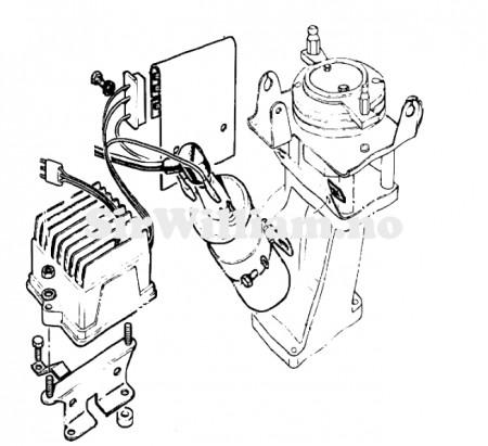Coil, ballast, styring